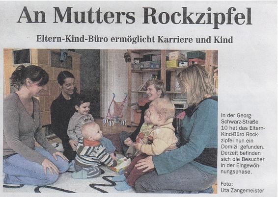 Foto von Frau Zangemeister für den LVZ-Artikel